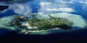 Aerial view of Moku o Loʻe
