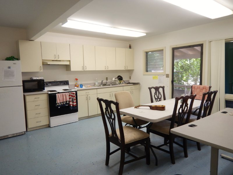 Hale Hinalea rear kitchen