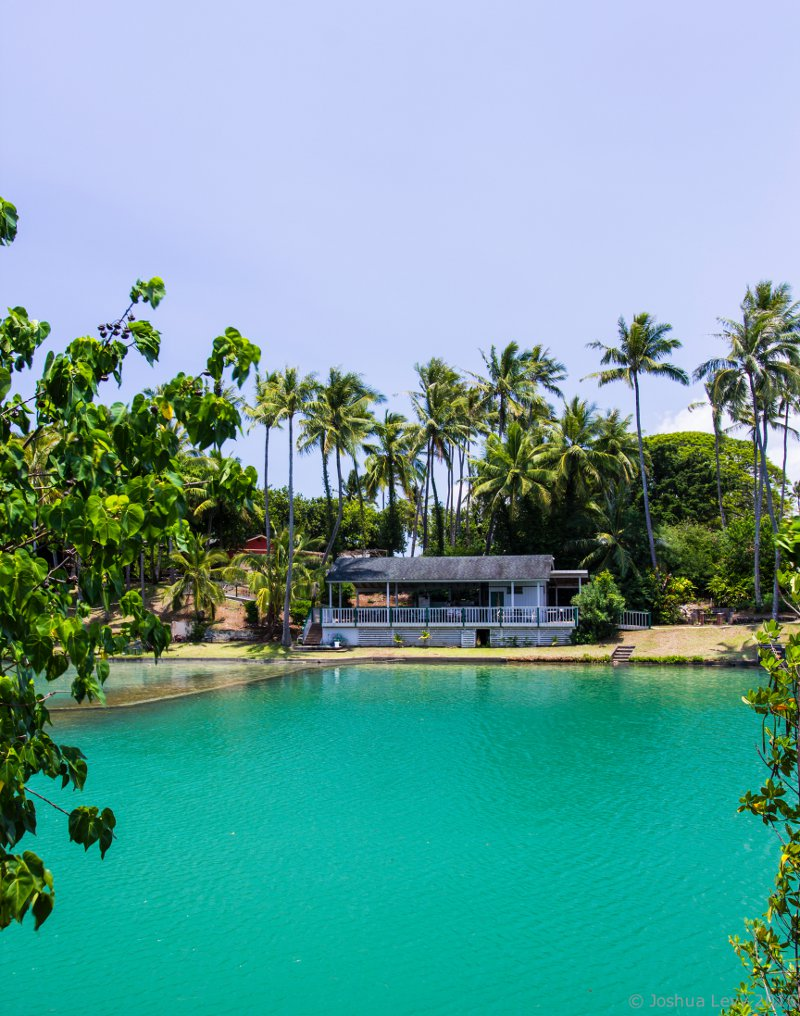 Beach House and Swimming Lagoon